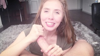Hot and Sensual BJ at Home with Lena Paul